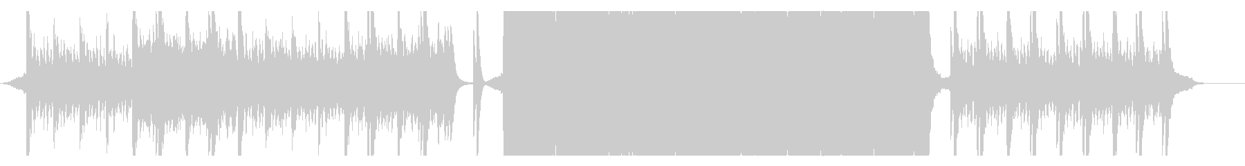 映画風壮大なトレーラー10(打楽器抜き)の未再生の波形