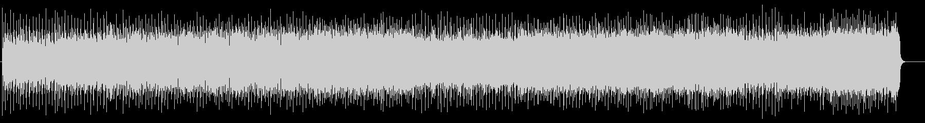 スリリングなマイナーヘヴィロックの未再生の波形