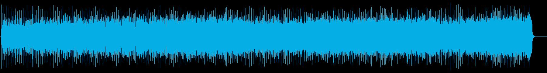 スリリングなマイナーヘヴィロックの再生済みの波形