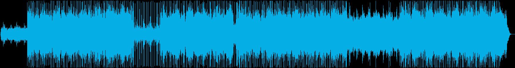 お洒落Lofiチルヒップホップ※ノイズ有の再生済みの波形