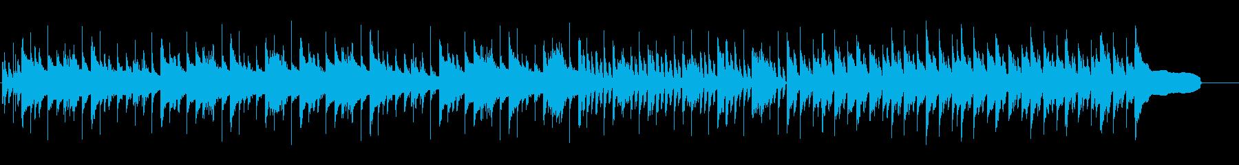 哀愁のあるシンプルなピアノ曲の再生済みの波形