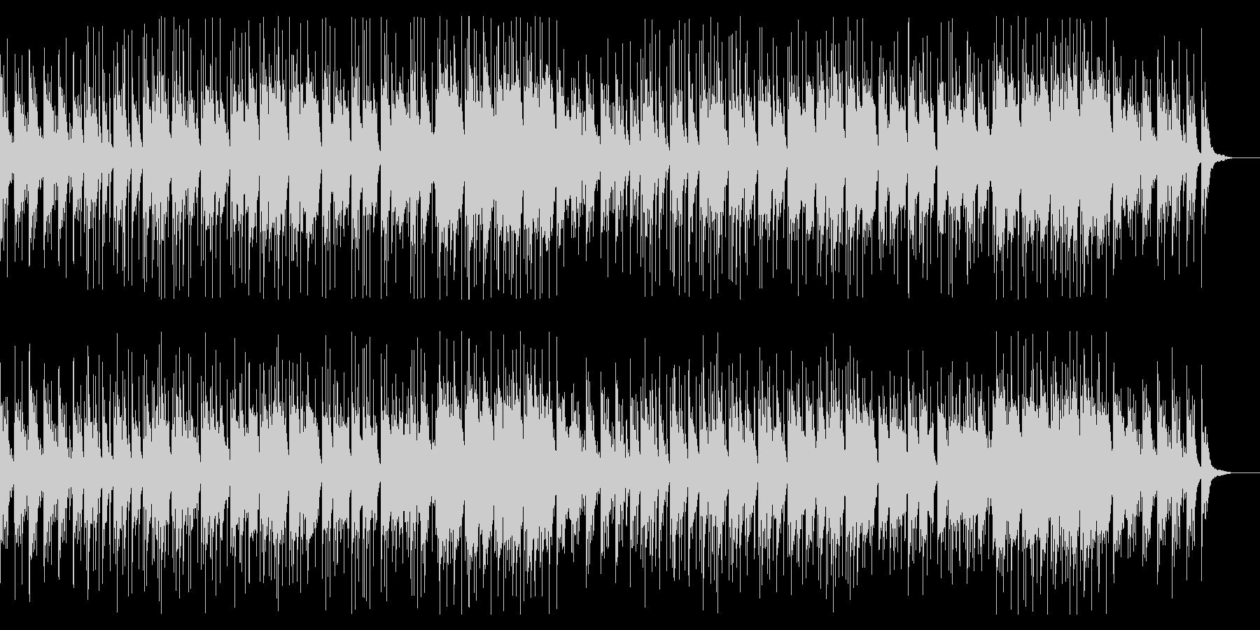 箏や尺八で奏でるゆったり和風BGMの未再生の波形