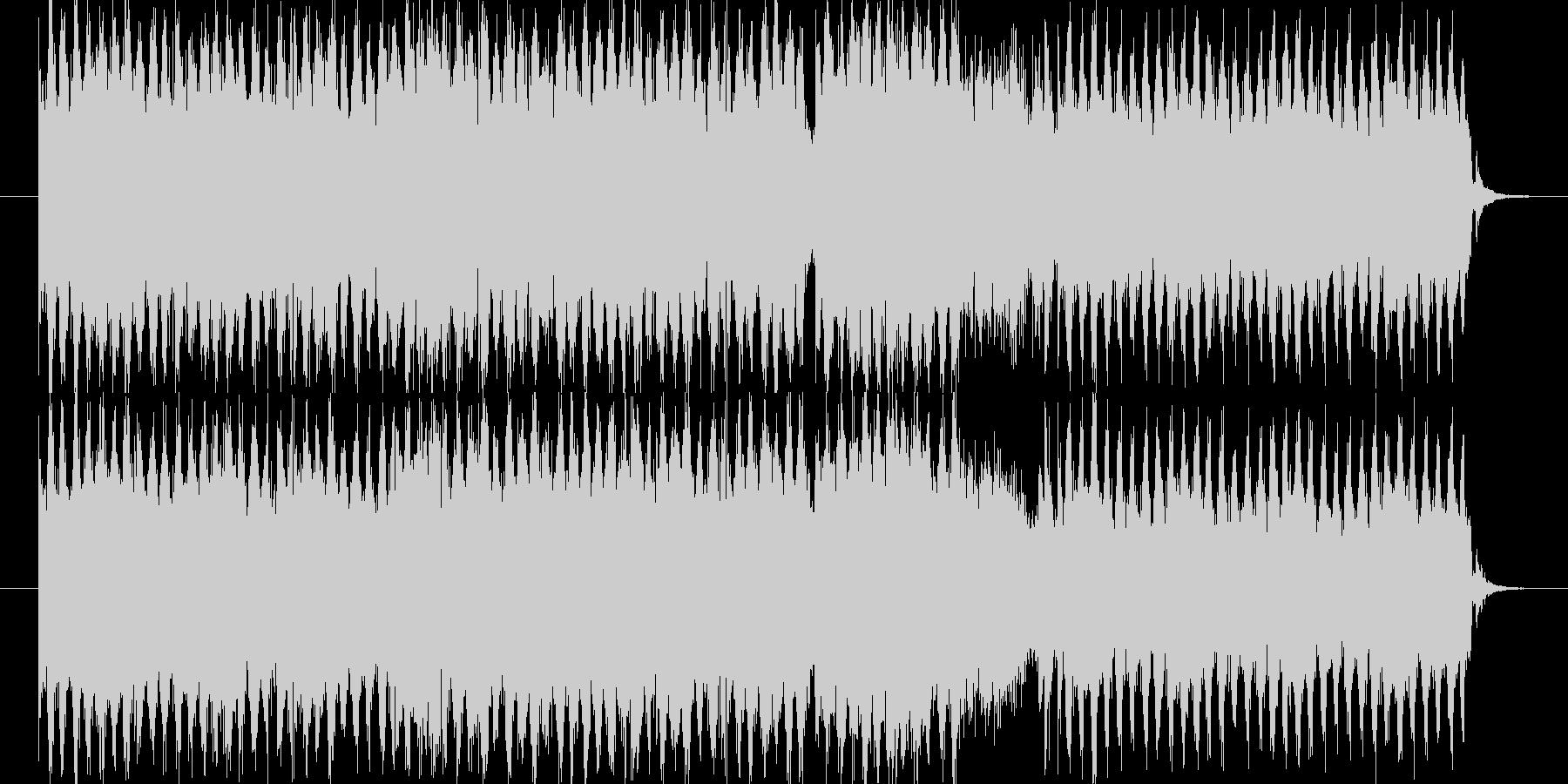 ポップでキャッチーな元気溢れる曲です。…の未再生の波形
