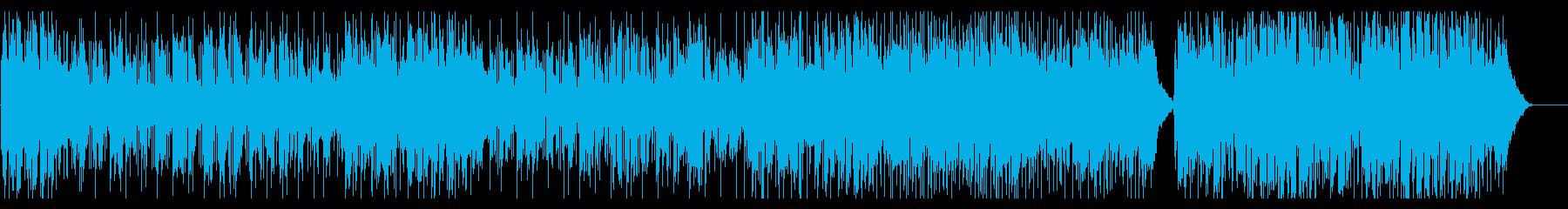 アコースティック感のあるメロウポップの再生済みの波形