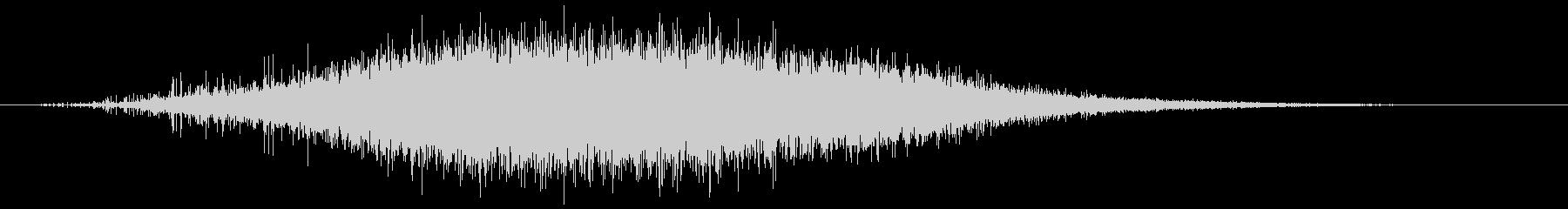 エレクトロスピニングバーストの未再生の波形