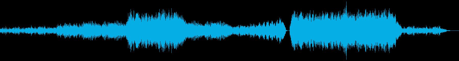 切なさと爽やかさを出したインスト曲の再生済みの波形