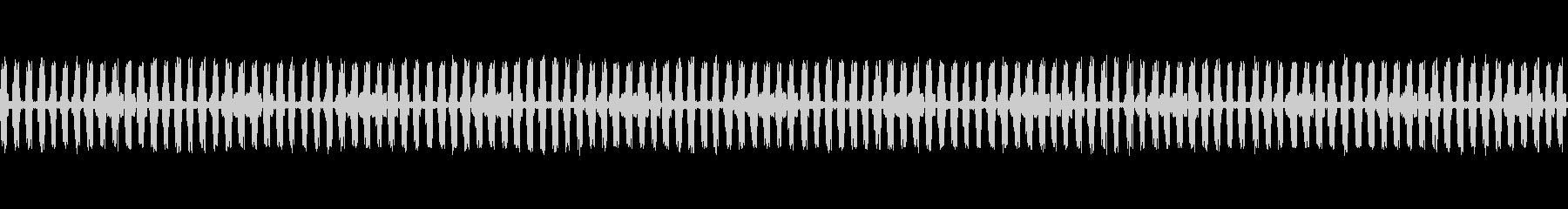 【生録音】秋の虫たちが鳴く音1 ループの未再生の波形