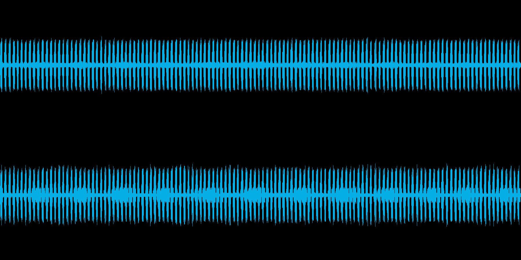 【生録音】秋の虫たちが鳴く音1 ループの再生済みの波形