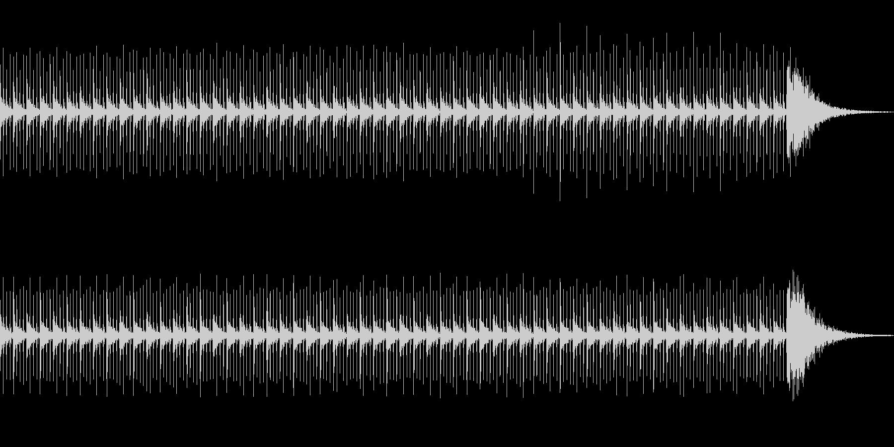 カウントダウン効果音(60秒)シリアスの未再生の波形