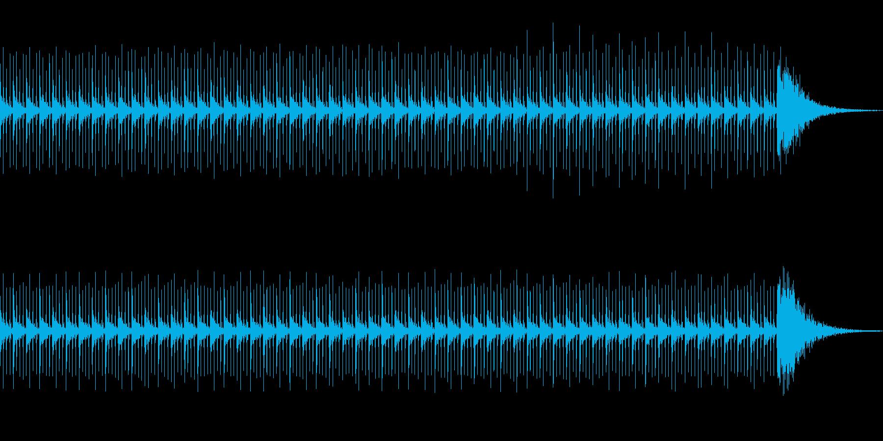 カウントダウン効果音(60秒)シリアスの再生済みの波形