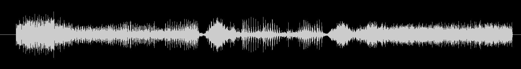 イメージ ボーカルグリッチ03の未再生の波形