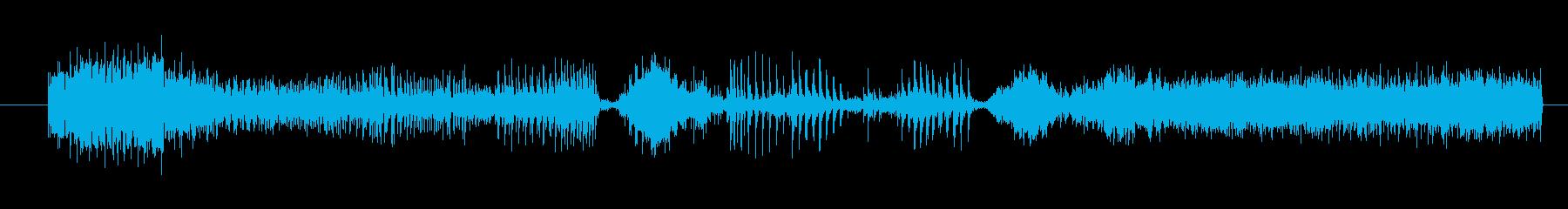 イメージ ボーカルグリッチ03の再生済みの波形