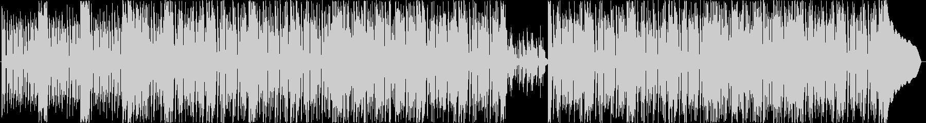 男らしいファンクロックの未再生の波形