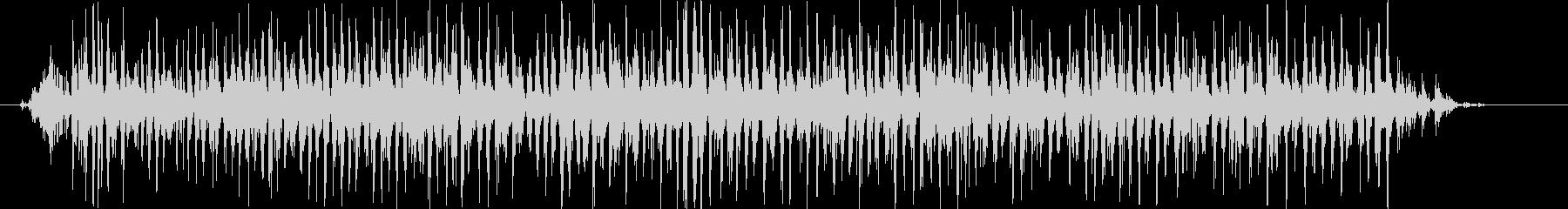 シャラララララ(鈴のロール♪)の未再生の波形
