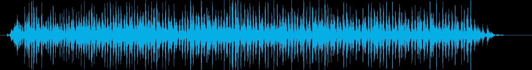 シャラララララ(鈴のロール♪)の再生済みの波形