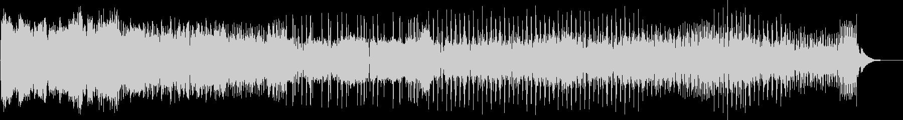 抑揚・キレのあるクールなEDMの未再生の波形