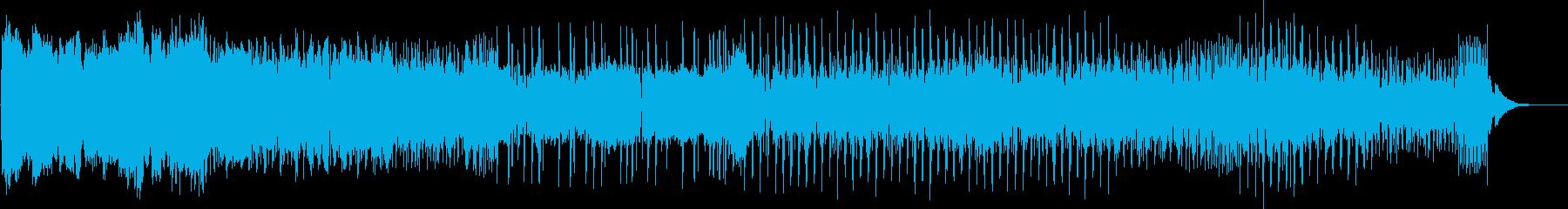 抑揚・キレのあるクールなEDMの再生済みの波形