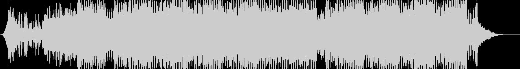 凶悪な重低音 容赦ないダークなEDMの未再生の波形