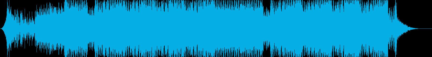 凶悪な重低音 容赦ないダークなEDMの再生済みの波形