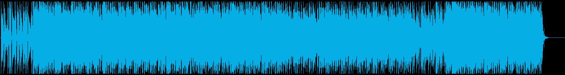 ノリノリキーボーディストインストの再生済みの波形