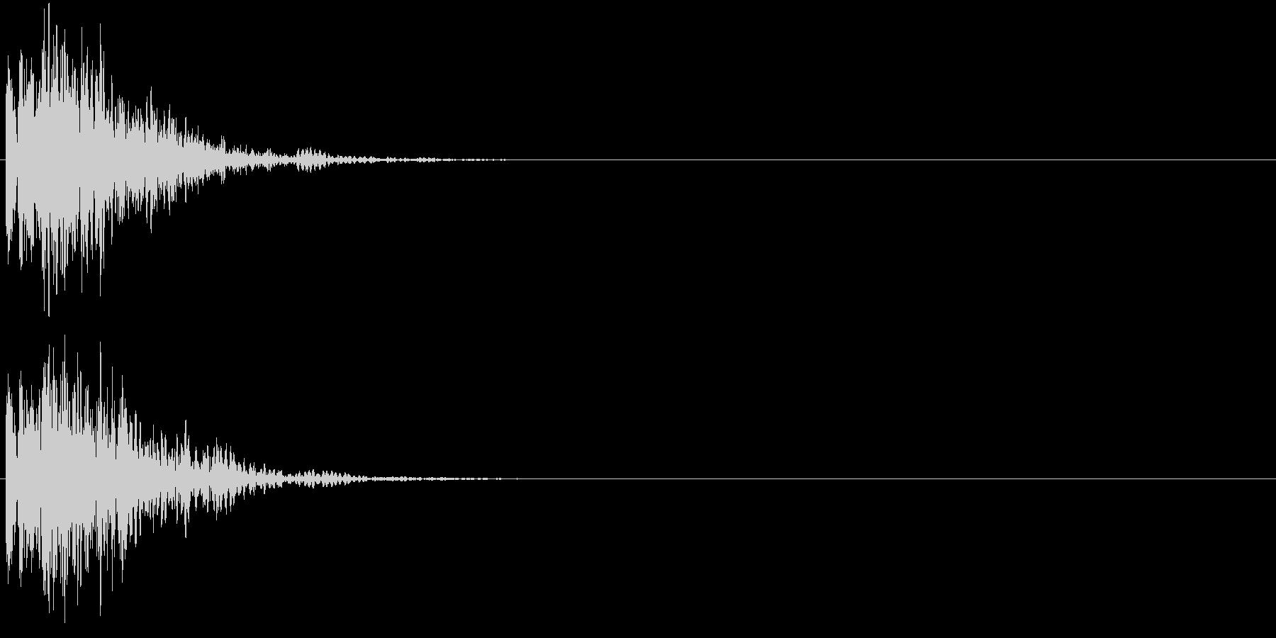 バコーン(強撃・スペシャル技・必殺技)の未再生の波形