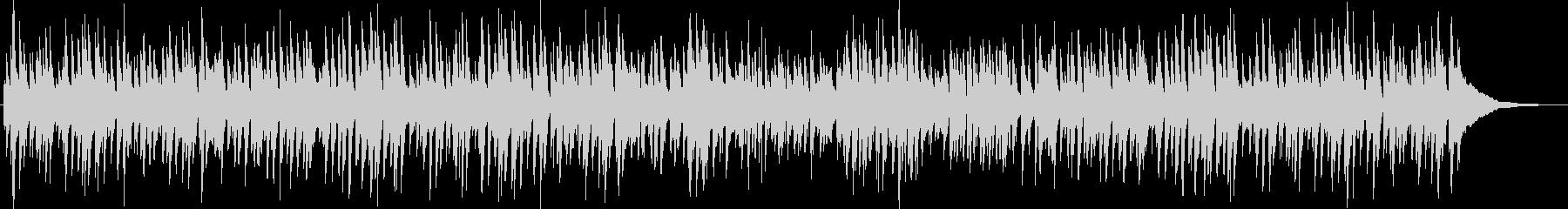 ピアノとギターのまったりボサノバの未再生の波形