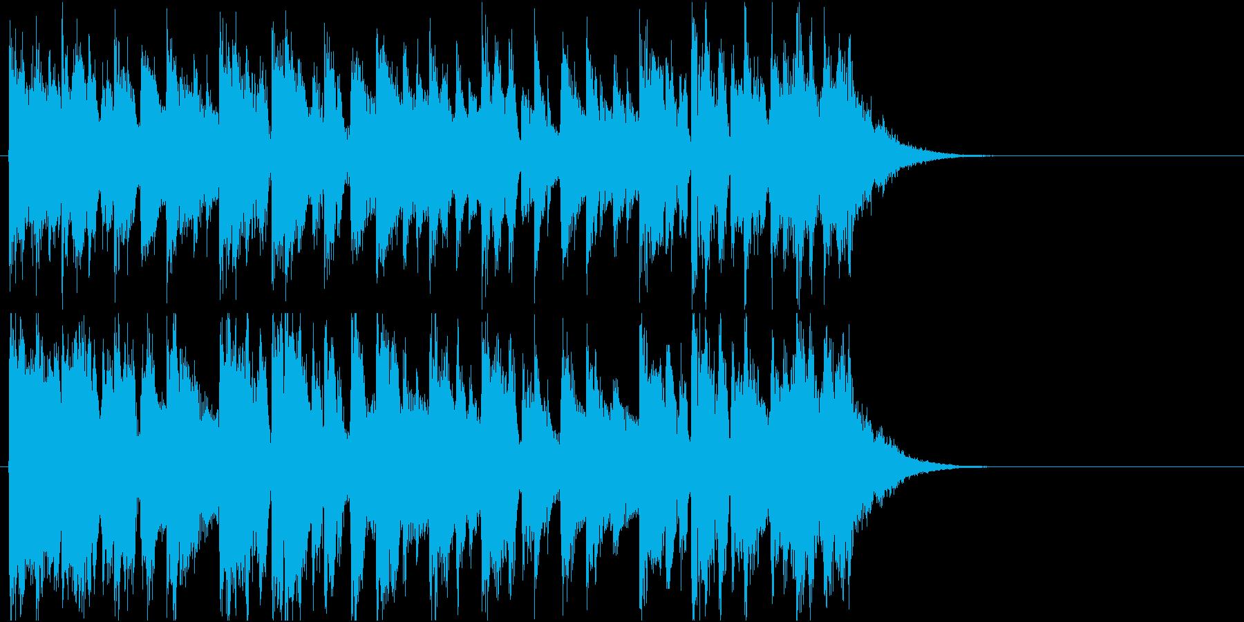 短いのん、カントリーっぽいのんの再生済みの波形
