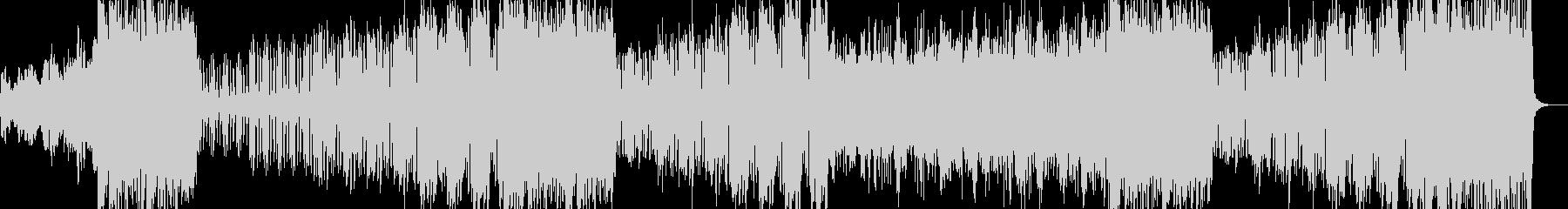 9拍子のオーケストラ風プログレの未再生の波形
