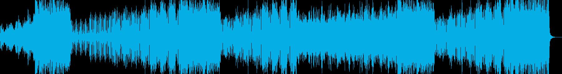 9拍子のオーケストラ風プログレの再生済みの波形
