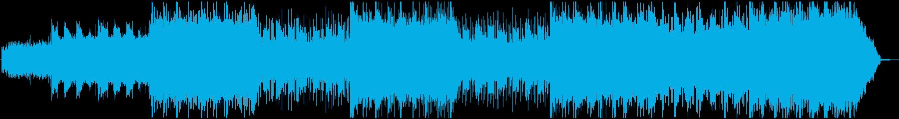 不安しか感じられないヘヴィなエレクトロの再生済みの波形