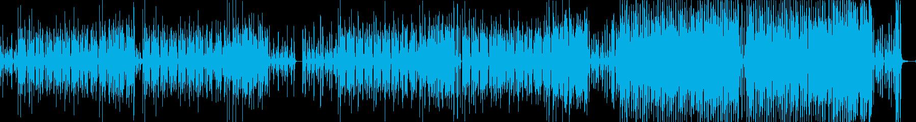 コミカルでのほほんとしたポップスの再生済みの波形