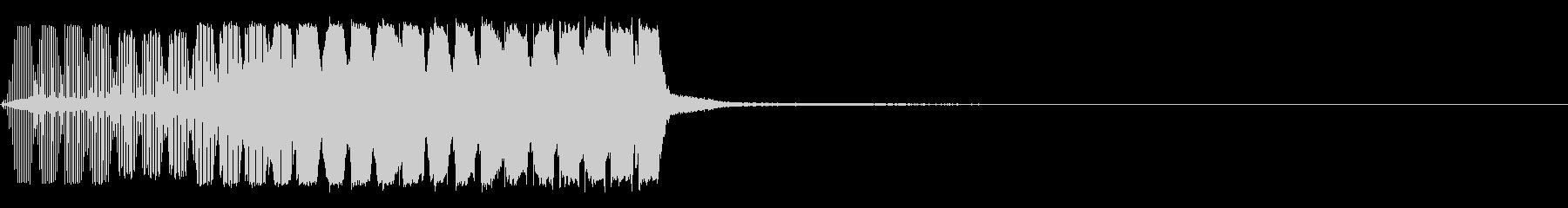 サックスの効果音4 建設中 工事中の未再生の波形