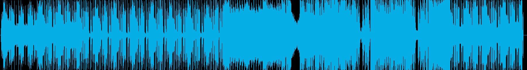 KPOP風ノリの良いピコピコシンセ曲の再生済みの波形