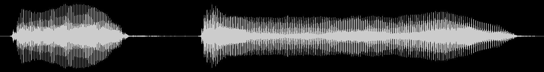 ダウトーの未再生の波形