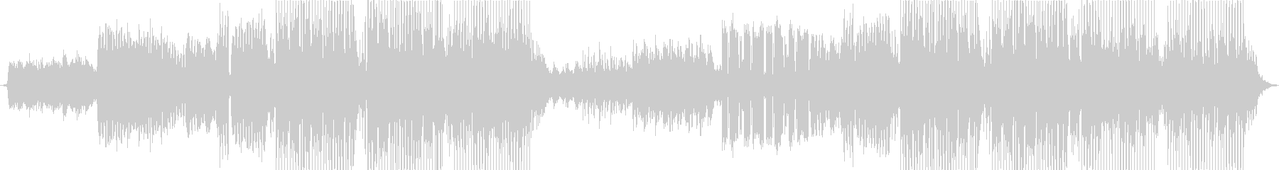 ピアノを使ったEDMの未再生の波形