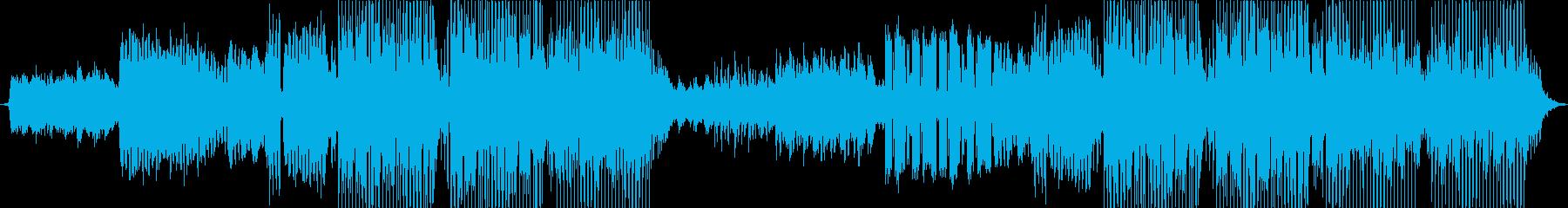 ピアノを使ったEDMの再生済みの波形