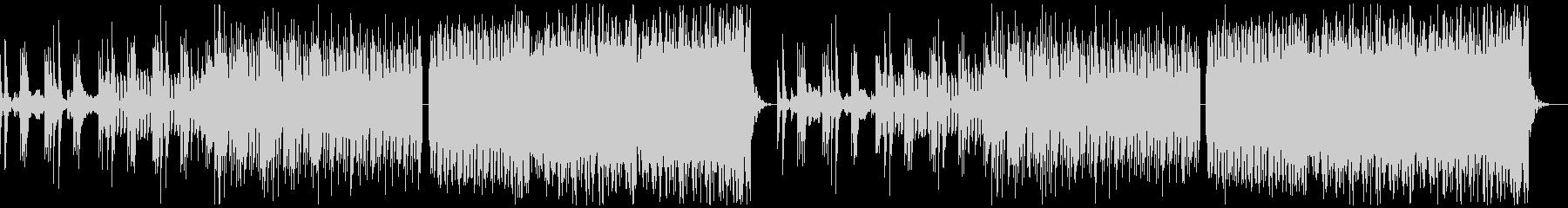 クール・スタイリッシュなBGM・6の未再生の波形