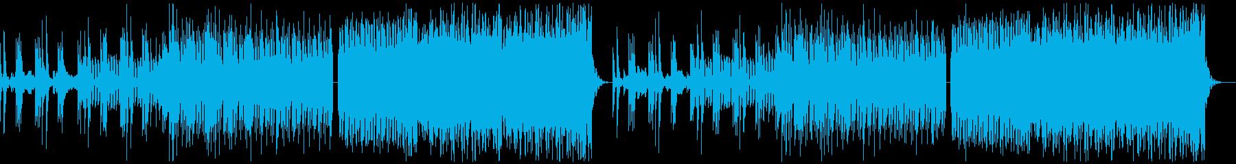 クール・スタイリッシュなBGM・6の再生済みの波形