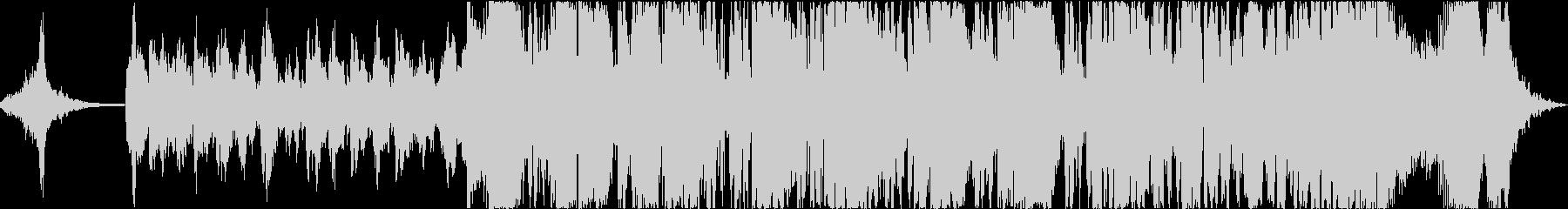 重厚なシネマティックサウンドの未再生の波形