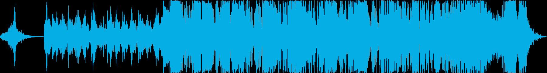重厚なシネマティックサウンドの再生済みの波形