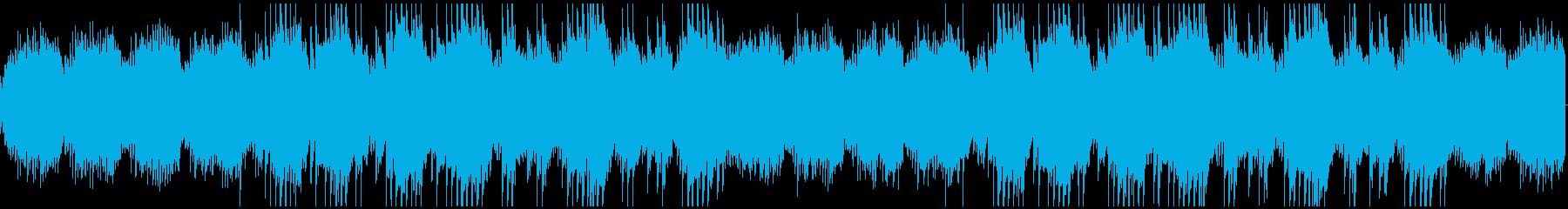 【RPG アプリ等】悲しげなピアノ曲の再生済みの波形