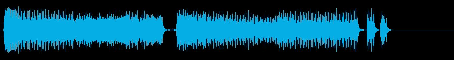 削岩機1;インテリアまたは地下、近...の再生済みの波形