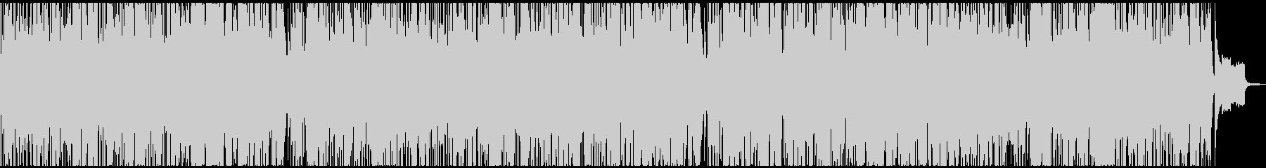 オーボエ主体のポップスの未再生の波形