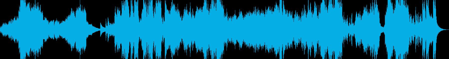オーケストラオープニング曲の再生済みの波形