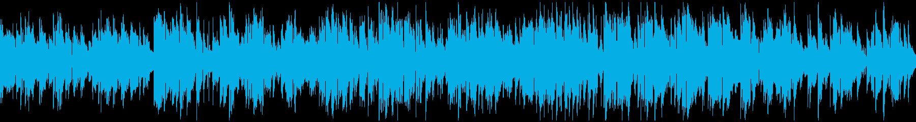 ゆったりジャズサックス ※ループ仕様版の再生済みの波形