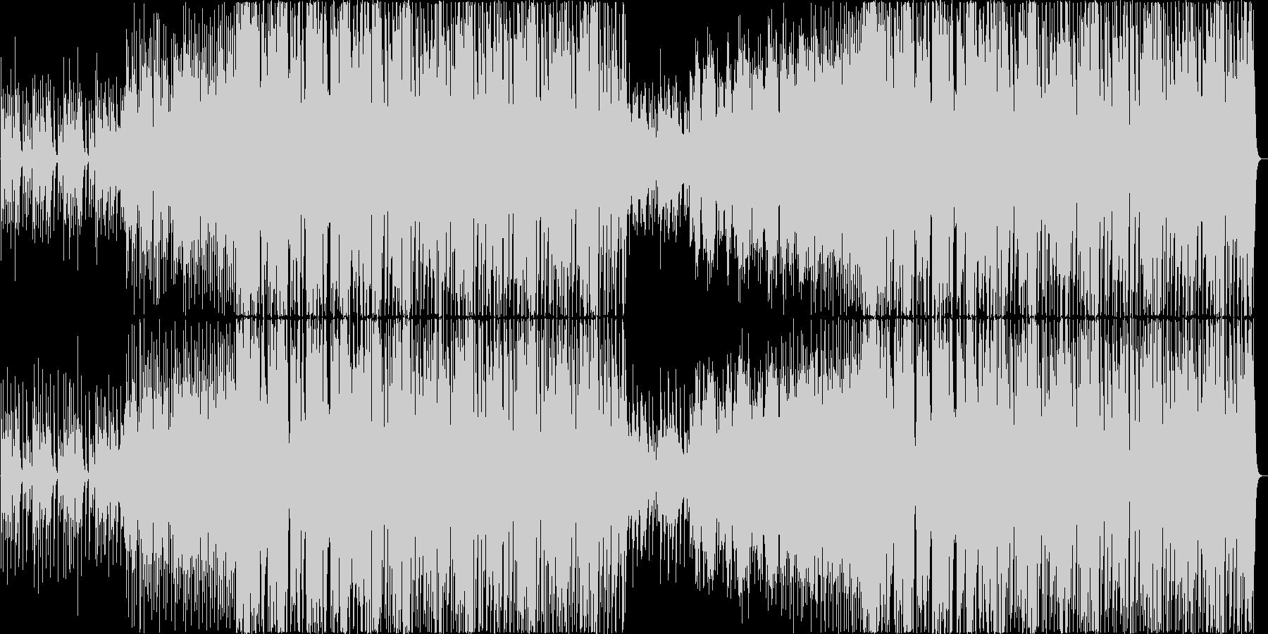 ダブステップ 実験的 積極的 焦り...の未再生の波形