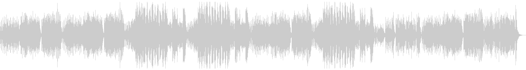 弦、ハープシコード、パイプオルガン...の未再生の波形