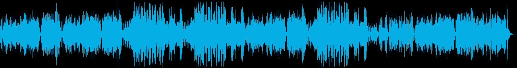 弦、ハープシコード、パイプオルガン...の再生済みの波形