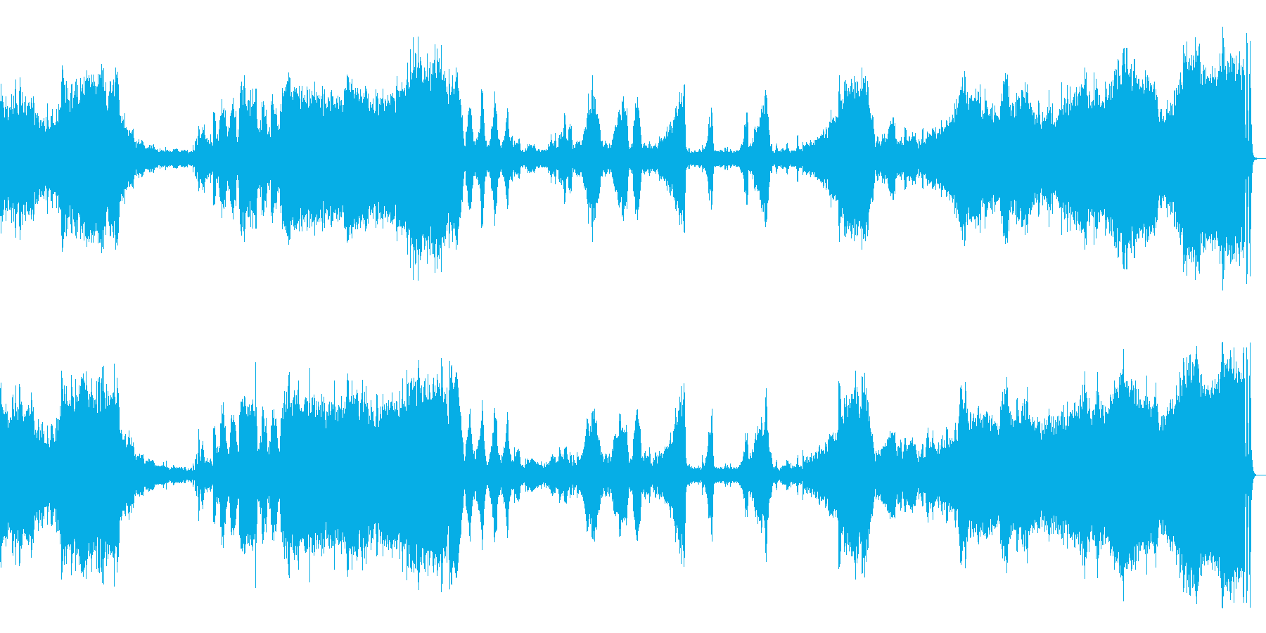 マイスタージンガー前奏曲   ワーグナーの再生済みの波形