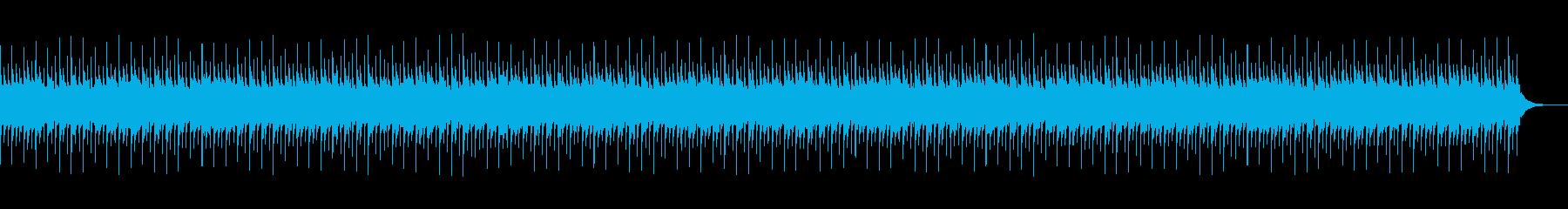不安感を煽るオルゴール曲の再生済みの波形